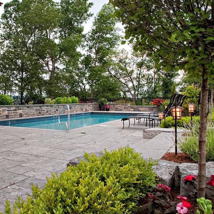 Pool stone
